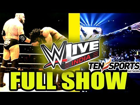 WWE LIVE INDIA 2017 [FULL SHOW HIGHLIGHTS]