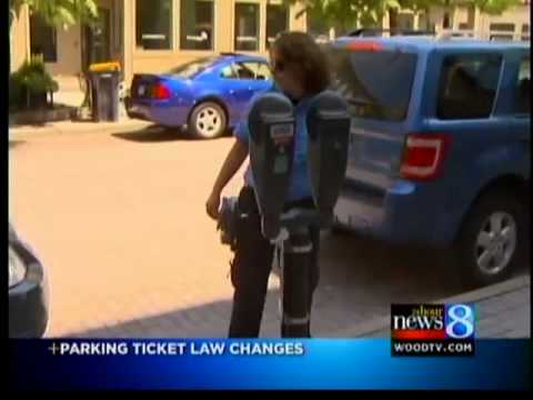 New Michigan parking ticket law