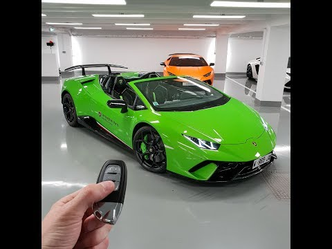 The day I fell for the newest Lamborghini, the Huracan Performante Spyder