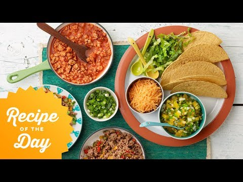 Recipe Of The Day: Rachael's Make-Your-Own Tacos Bar | Food Network