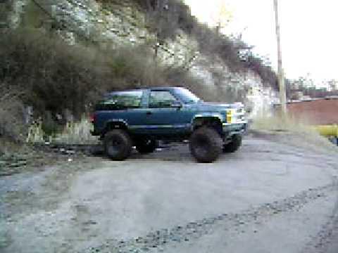 1993 Blazer 40 Inch Mud Tires Youtube