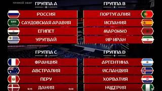 Сетка Чемпионата мира по футболу-2018.
