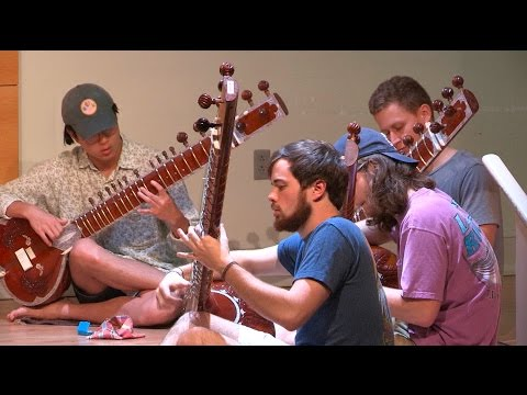 In class with Max Katz: The Music of India Ensemble