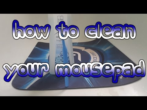 How To Clean Your Mousepad by Bosh Gaming