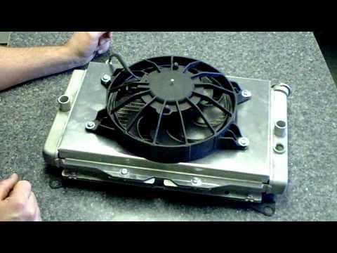 how to make a radiator shroud