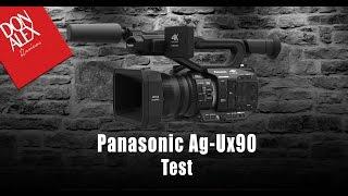 Panasonic Ag-Ux90 Test