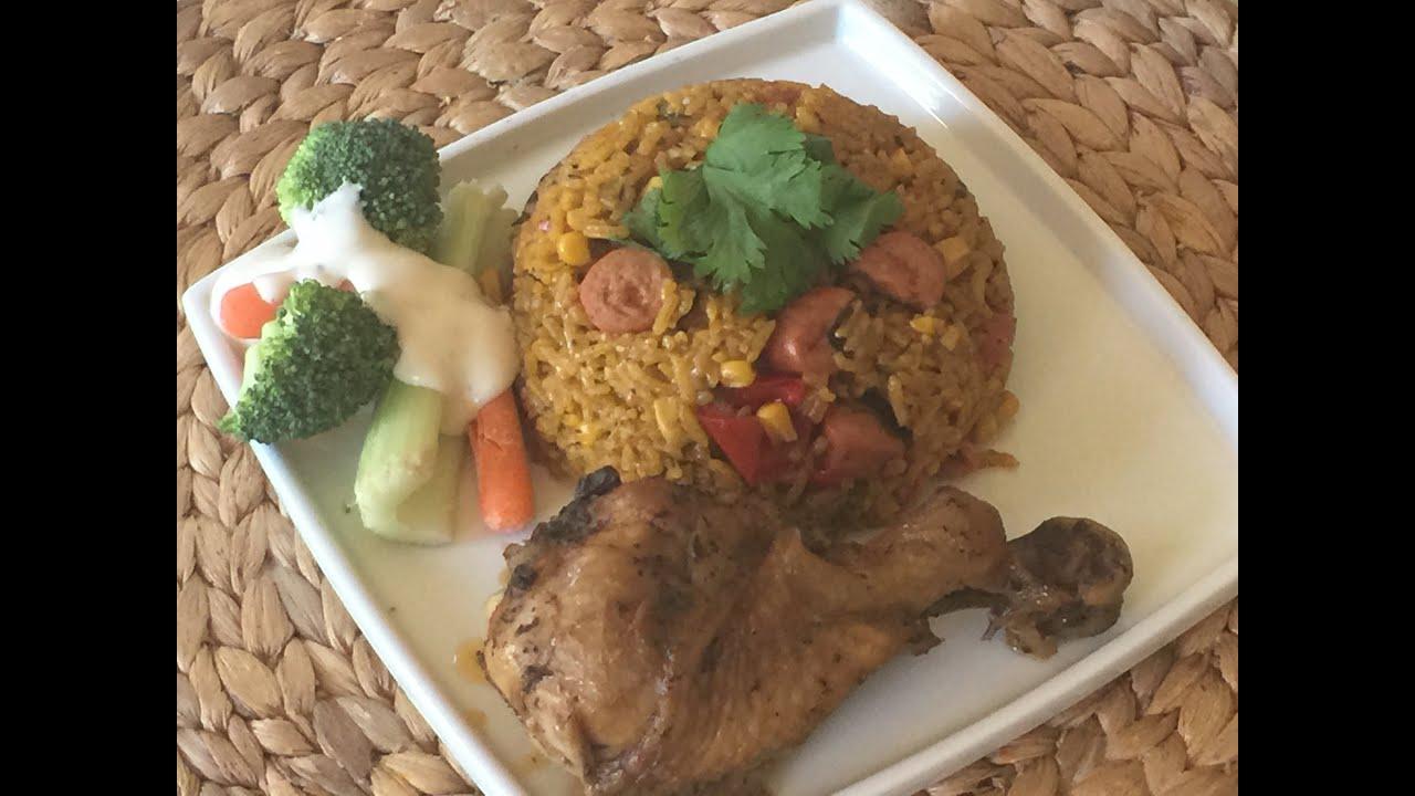 como hacer arroz con maiz boricua