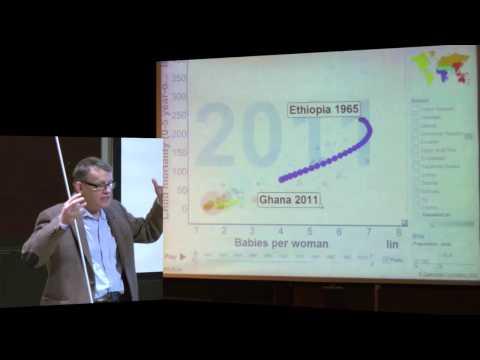 Trade or Aid - Hans Rosling - föreläsning vid Uppsala universitet - del 1