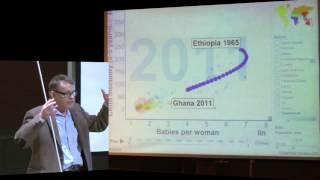 Trade or Aid - Hans Rosling - föreläsning vid Uppsala universitet - del 1 thumbnail