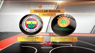 Highlights: Fenerbahce Istanbul-Panathinaikos Superfoods Athens