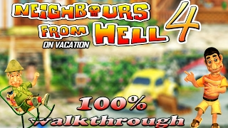 Neighbours From Hell 4 - ALL Episodes [100% walkthrough]