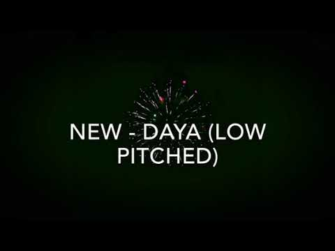 New - daya (low pitched)