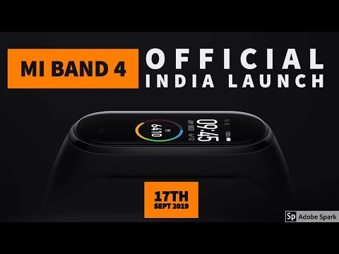 Mi Band 4 INDIA LAUNCH DATE CONFIRMED | Priced at **99