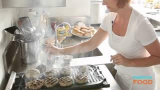 Turkey-cheddar Burgers | Everyday Food With Sarah Carey
