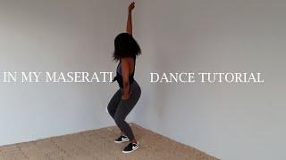 OLAKIRA - IN MY MASERATI TIKTOK DANCE TUTORIAL  IN ENGLISH!  CHOREO BY GALA x YANA  ALL ABOUT YANA