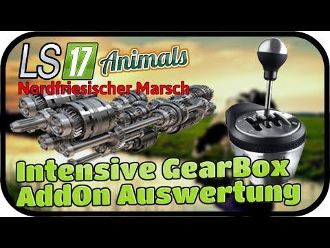 Intensive GearBox AddOn Auswertung #071 ANIMALS - LS17 NORDFRIESISCHER MARSCH ★  FARMING SIMULATOR 1