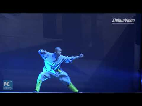 Shaolin monks stage amazing Kung Fu show in Greece