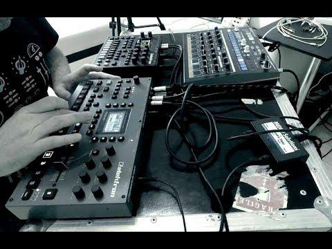 Octatrack Live Resampling Jam / ft. Elektron Digitone & Arturia DrumBrute Impact