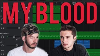 My Blood GarageBand Twenty One Pilots Tutorial/ Remake Video