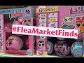 Flea Market Finds! Finding & Unboxing LOL Surprise FAKE Dolls – What's Inside? L.O.L. Real vs Fake