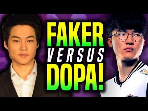 When FAKER Plays TALON vs DOPA Twisted Fate! - SKT T1 Faker Talon vs Dopa Twisted Fate! | SKT T1