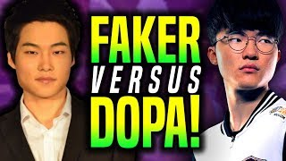 When FAKER Plays TALON vs DOPA Twisted Fate! - SKT T1 Faker Talon vs Dopa Twisted Fate! | SKT T1