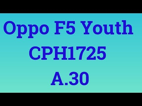 oppo f5 cph1725 flash file - Myhiton