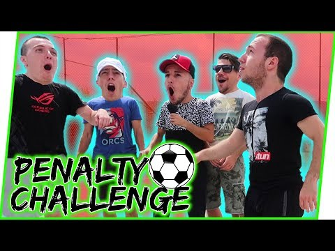 PENALTY CHALLENGE SA YOUTUBERIMA!