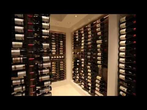 12 Bottle Wall Mounted Wine Storage Rack; unique wine ...