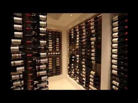 12 Bottle Wall Mounted Wine Storage Rack; unique wine ...