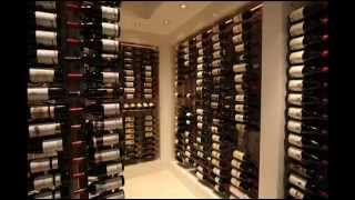 12 Bottle Wall Mounted Wine Storage Rack; unique wine racks, wall mounted wine cabinets