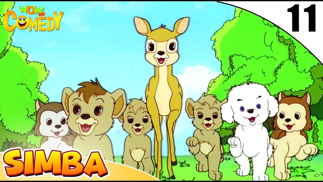 Simba - The Lion King | Jungle Stories In Hindi | EP 11 | Wow Kidz Comedy