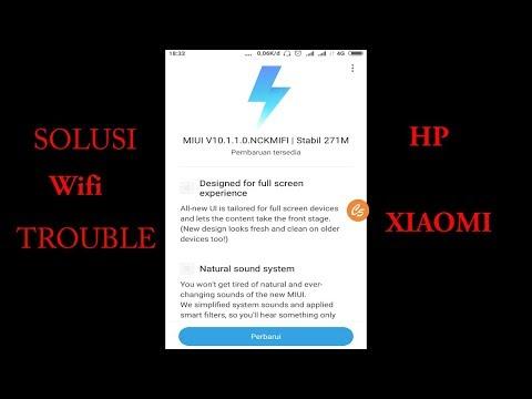 Berikut kami paparkan 3 metode atau tips mengatasi masalah wifi yang tidak bisa on di hp xiaomi. #Xi.