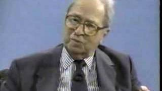 Mortimer J Adler: Intellect Mind Over Matter part 1 of 2