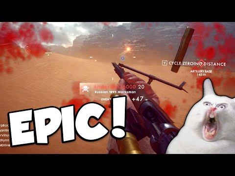 EPIC KILLS! Battlefield 1 w Tina