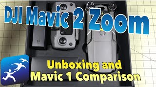 DJI Mavic 2 Zoom Unboxing and Comparison with Mavic 1 Pro