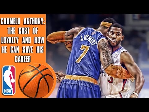 The cost of loyalty for Carmelo Anthony, and the decision that can change his career