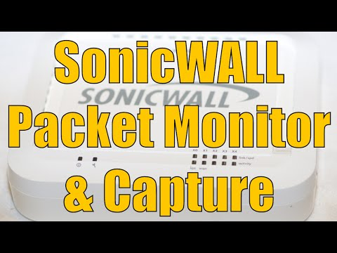 Dell SonicWALL Packet Monitor and Packet Capture