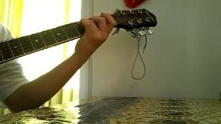 Песня под гитару, ты любимый мой