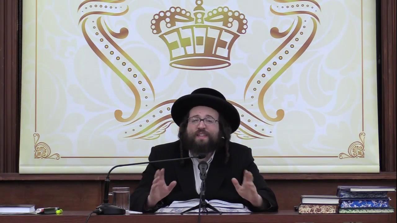 ר' יואל ראטה - שלום צווישן אידן - ה' תשא תשע''ט לאברכים - R' Yoel Roth