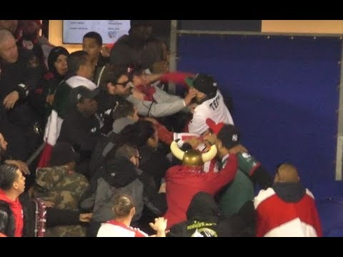 Red Bulls vs Chivas fan fight after Champions League game