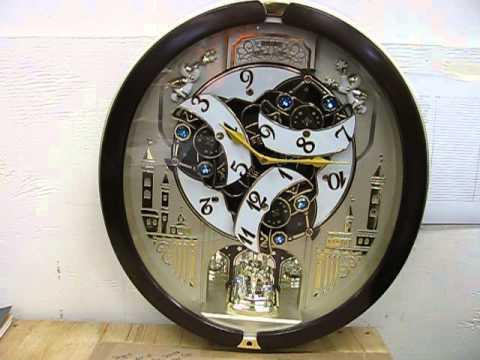 Incredibe Musical Seiko Wall Clock In Action
