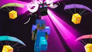 Paso Minecraft pero llueven Lucky Blocks cada 5 Segundos
