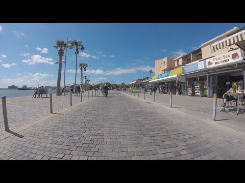 Paphos, Cyprus March 2016  peyia to paphos drive GoPro footage pt2