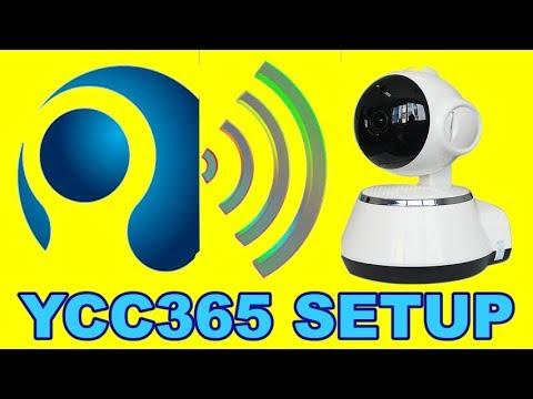 Wifi IP Camera For YCC365 setup