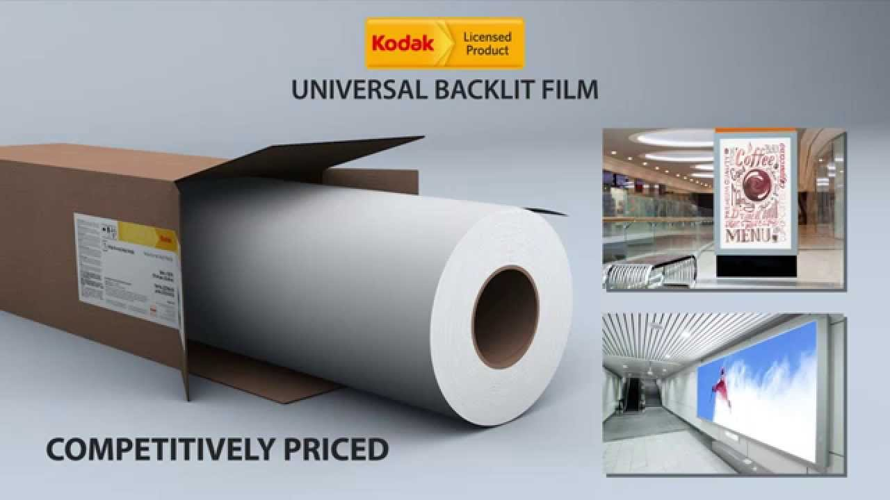 Kodak Universal Backlit Film