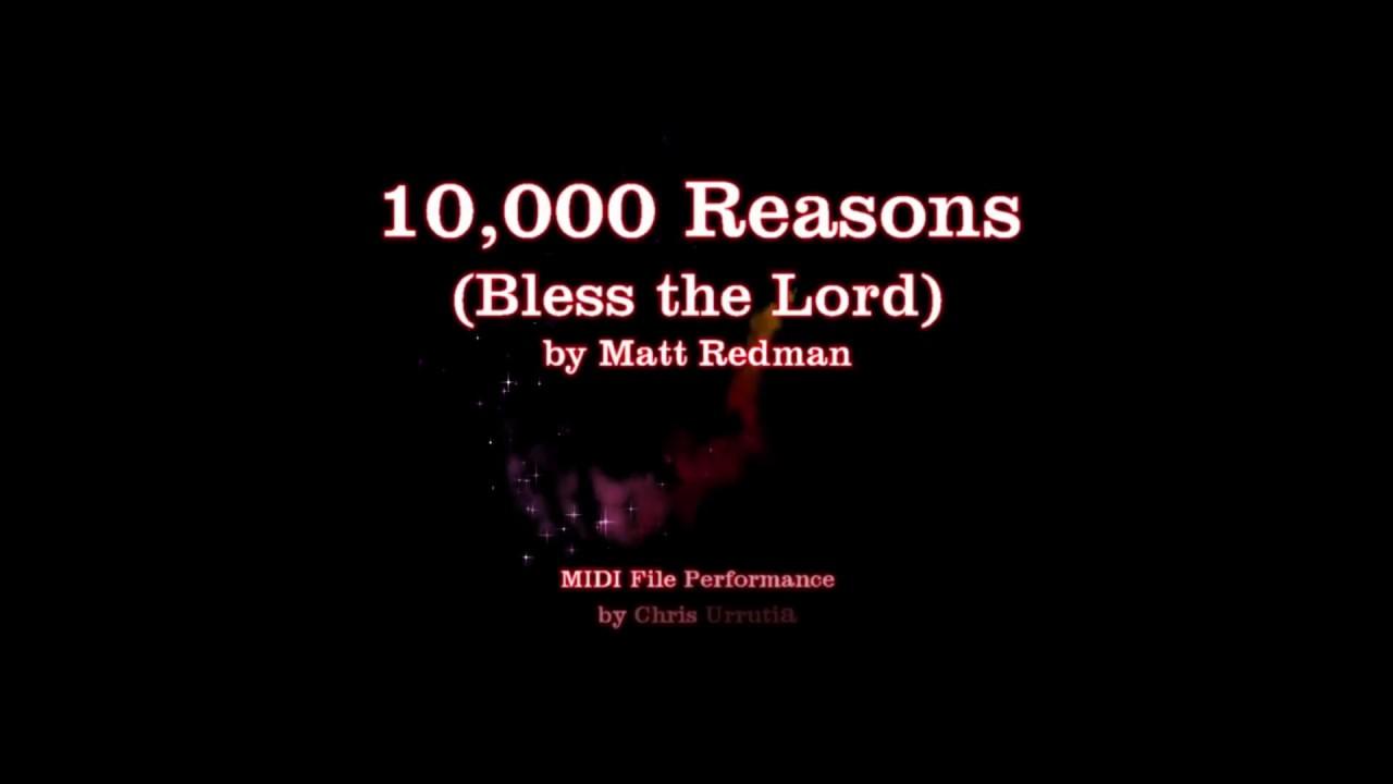 10000 Reasons (Bless the Lord) - Matt Redman