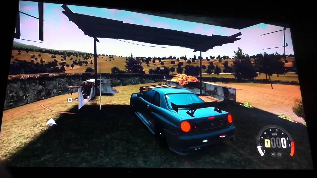 Forza Horizon 2 how to get into montellino barn find - YouTube