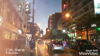 Saturday evening walk at Hamra Street