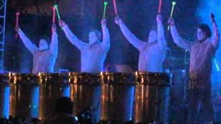 2 Sep 2011  Glow Man Show Feria Nacional de Zacatecas - FENAZA 2011